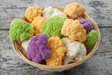 Cauliflower is a high fiber, nutrient-packed food.