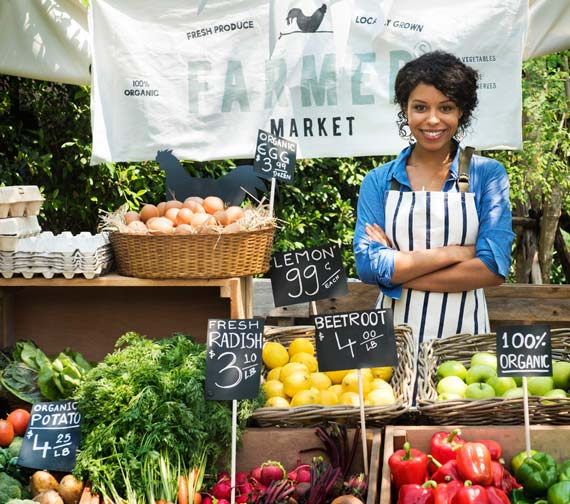 Eating locally might be healthier.