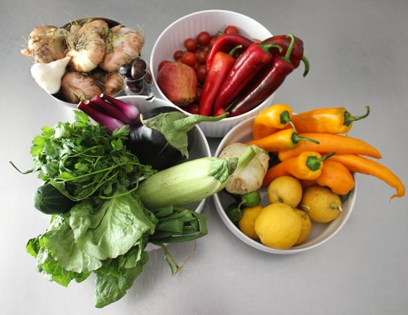 Learn about the benefits of fruits and vegetables.