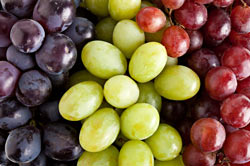 Grapes contain disease-fighting phytonutrients.