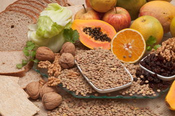 Foods high in fiber help your digestion.