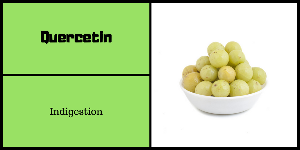 Quercetin for Indigestion